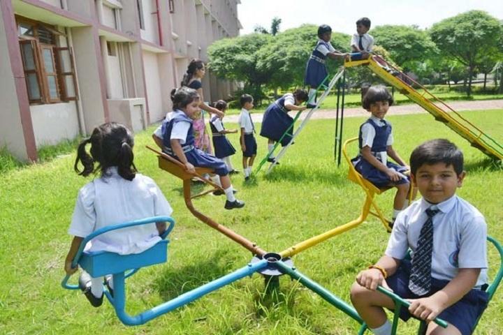 Little Flower School-Kids Play area