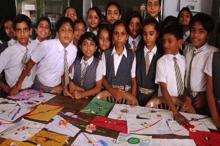 Little Scholars Academy-Rakhi Activity