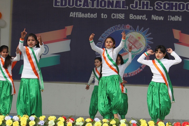 Lord Krishna Educational Junior High School-Independence Day Celebrations