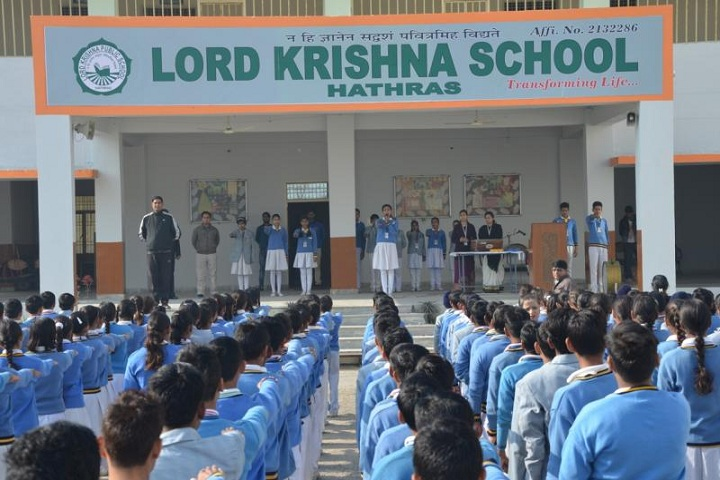Lord Krishna Public School-Morning Assembly