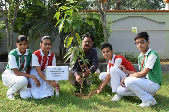 Lord Krishna Public School-Tree Plantation