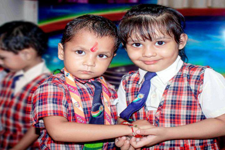 Lord Krishna Public School-Rakhi Celebration