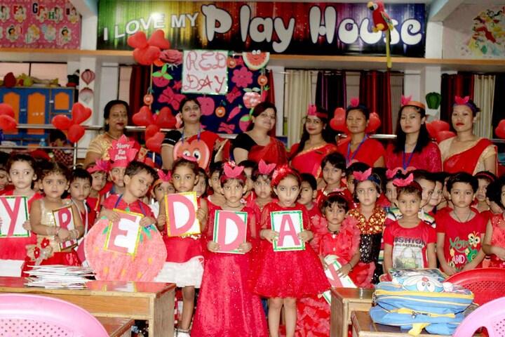 Lord Krishna Public School-Red Day