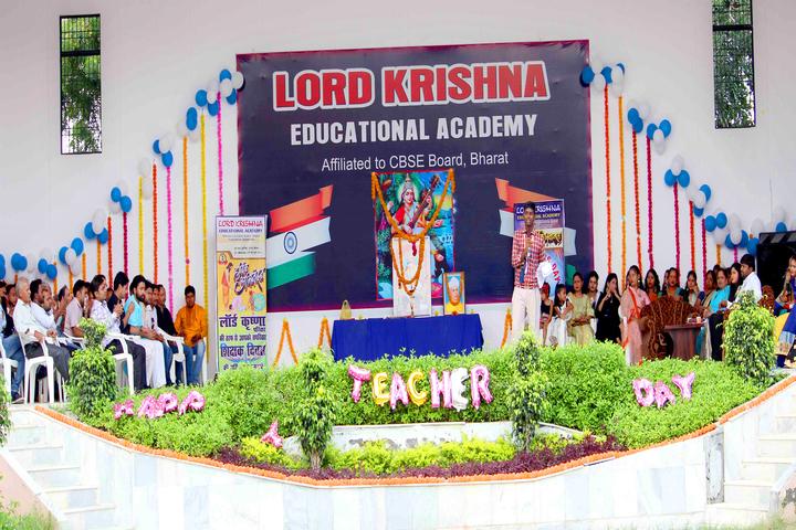 Lord Krishna Public School-Teachers Day Celebrations