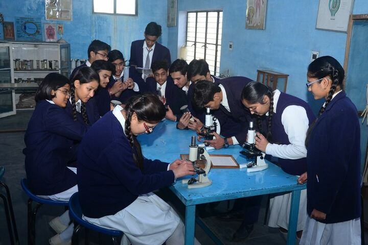 Lord Mahavira Academy-Biology-Lab