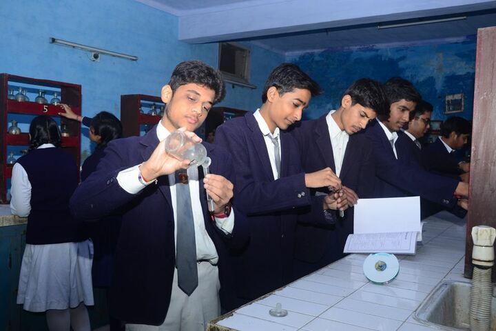 Lord Mahavira Academy-Chemistry-Lab