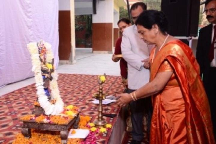 Lord Mahavira School-Lamping Ceremony