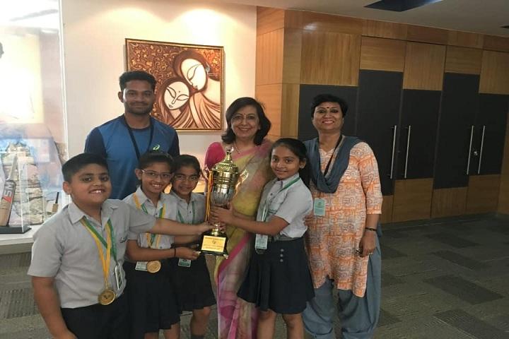 Lotus Valley International School-Achievement
