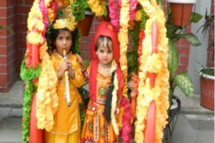 Lucknow Public College-Janmashtami Celebrations