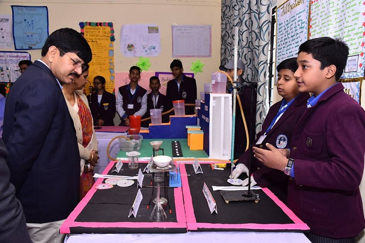 Lucknow Public College-Science Exhibition