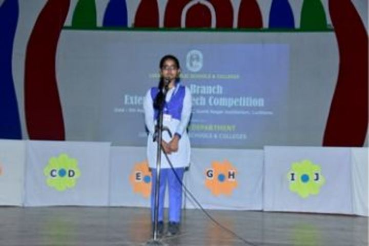 Lucknow Public College-Singing Competition
