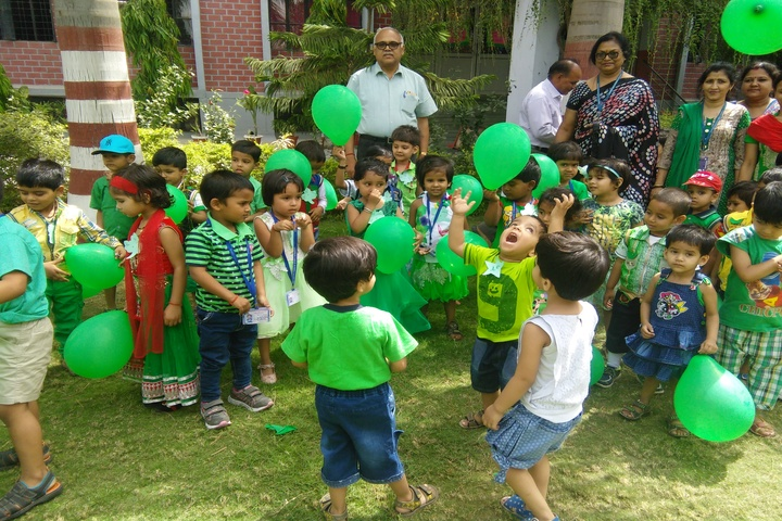 Lucknow Public School-Green Day Celebrations