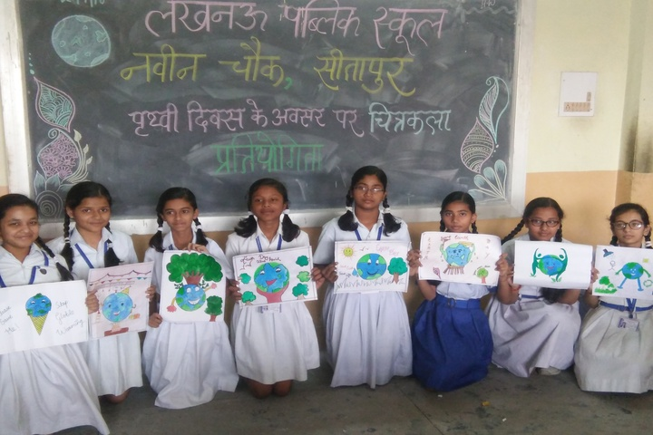 Lucknow Public School-Green Day Poster Presentation