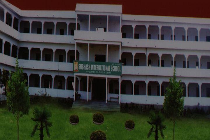 Subhash International School-Campus-View