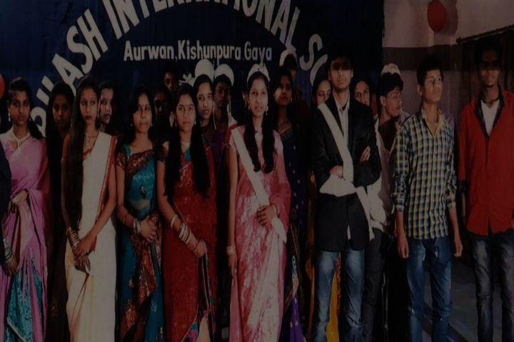 Subhash International School-Farewell