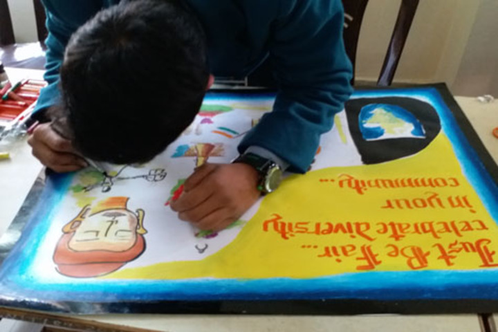 Lucknow Public School-Art and Craft