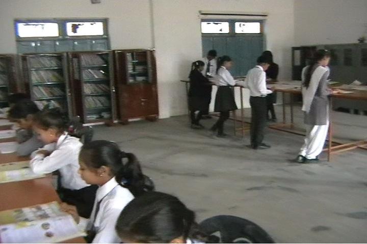Lucky Children Junior High School-Library