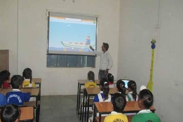 Lucky Children Junior High School-Smart Classroom