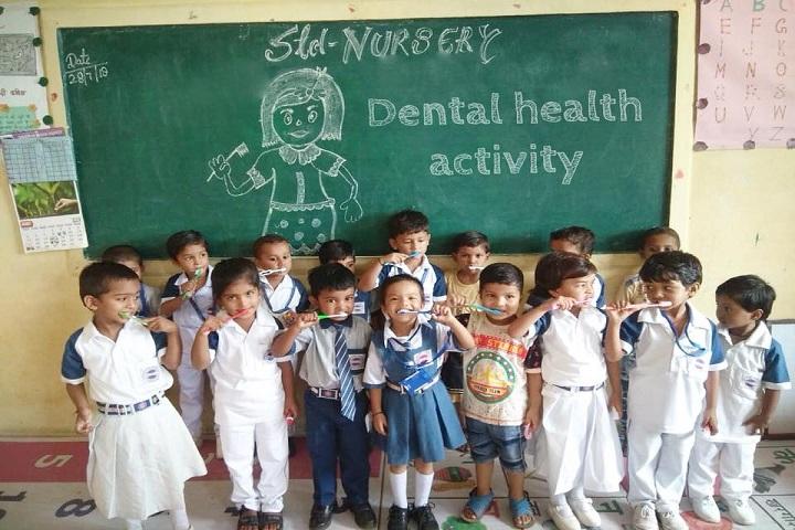 Lushkary Preparatory School-Dental Health Day