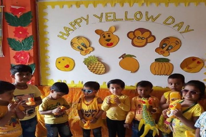 M L Convent School-Yellow Day