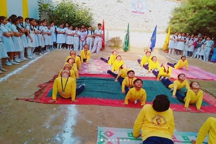 M L Convent School-Yoga