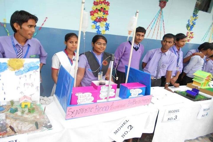 M V Convent Inter College-Science Exhibition