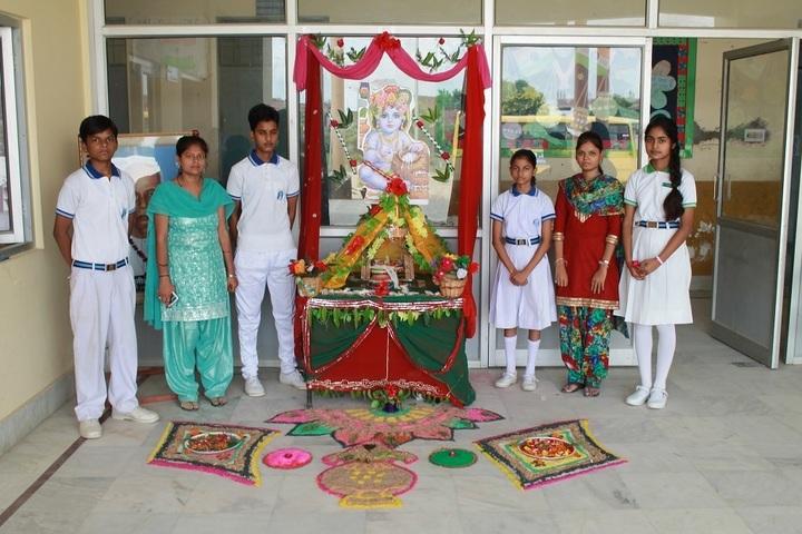 MB College - Janmashatami Celebrations