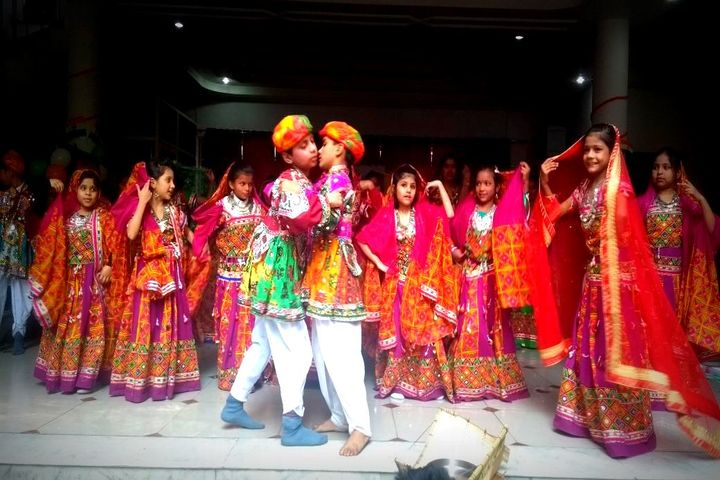 M G Convent School-Dance