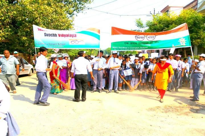 M G Convent School-Swachh Bharat