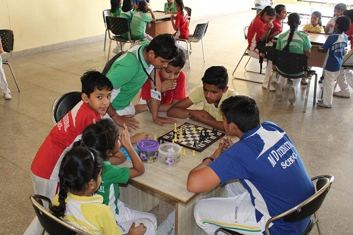 M D International School-Indoor Games