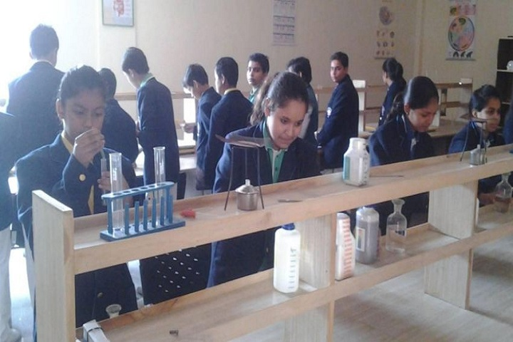 M D International School-Science Lab