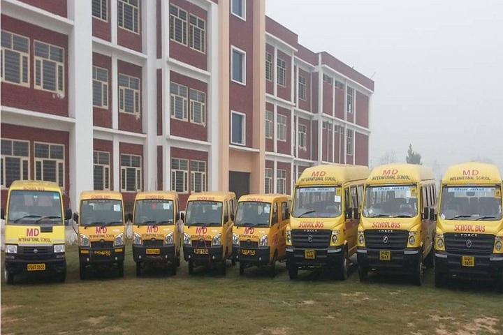 M D International School-Transport