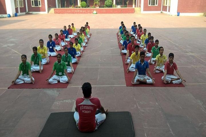 M D International School-Yoga