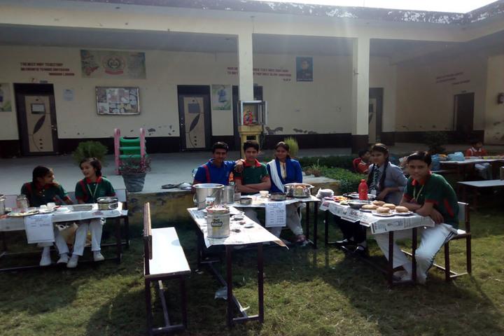 M J public School-Food Festival