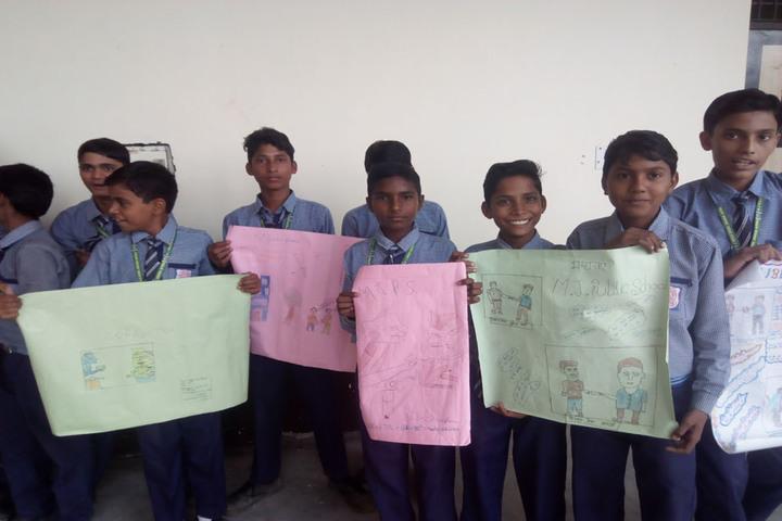 M J public School-Poster Presentation