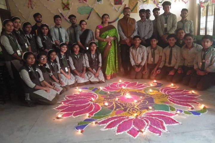 M T S Public School-Diwali Celebrations