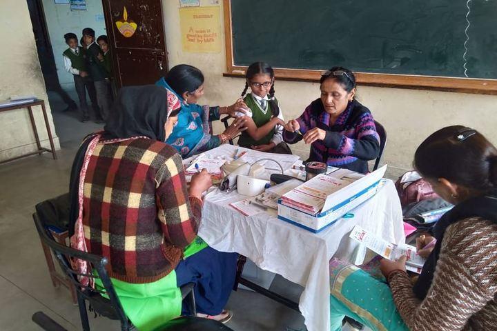 M T S Public School-Health Check Up