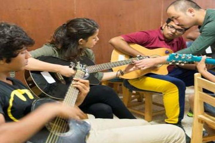 M T S Public School-Music Room