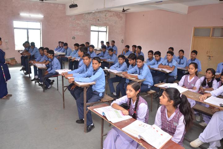 Maa Anjani Public School-Classroom