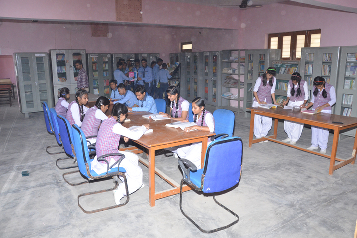 Maa Anjani Public School-Library