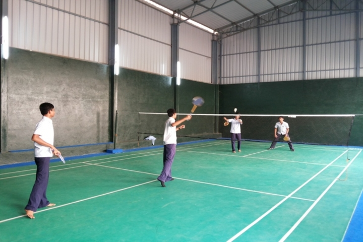 Dr K K R Gowtham International School-Badminton Court