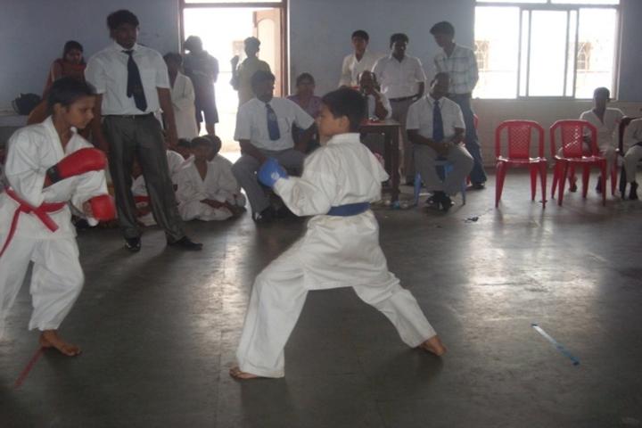 Dr K K R Gowtham International School-Martial Arts