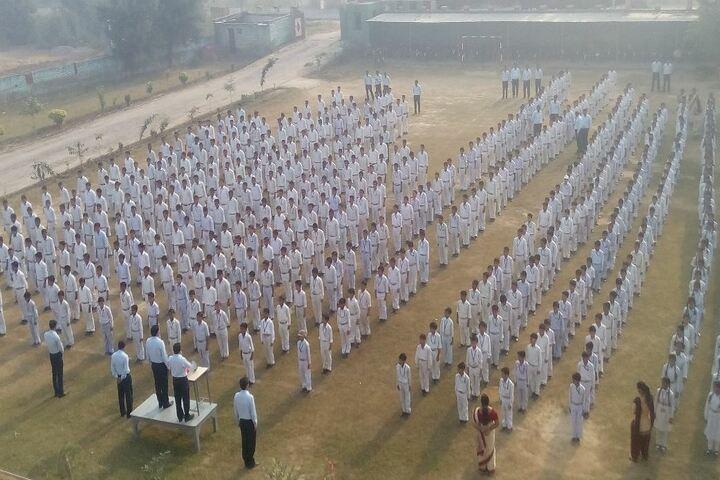 Madanmohan Kalawati Sarraf Saraswati Vidya Mandir-Assembly Ground