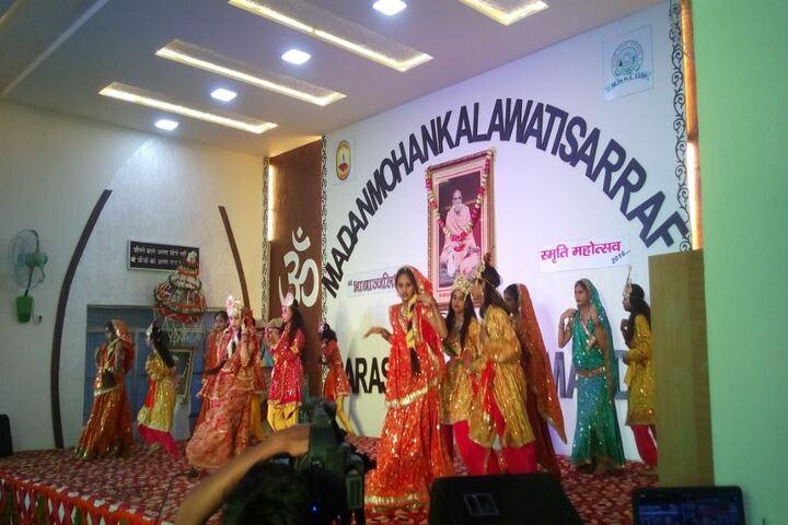 Madanmohan Kalawati Sarraf Saraswati Vidya Mandir-Cultural Dance
