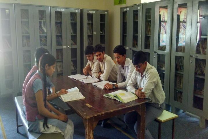Madanmohan Kalawati Sarraf Saraswati Vidya Mandir-Study Room