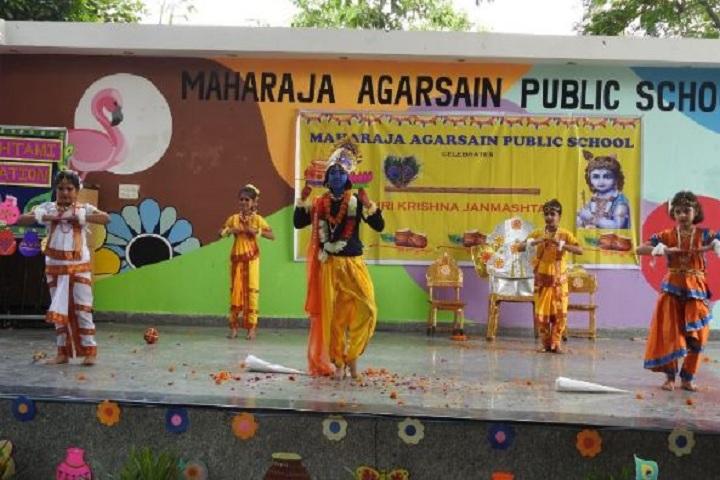 Maharaja Agarsain Public School-Krishnashtami