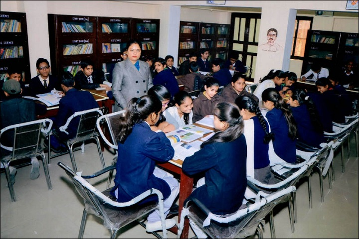 Maharaja Agrasen Public School-Library