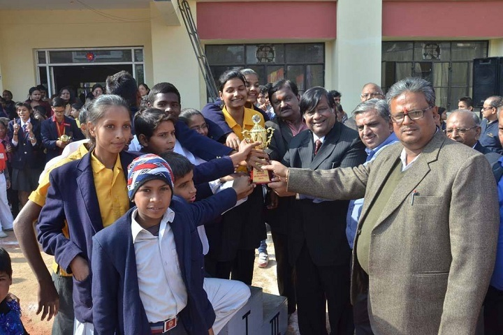 Maharaja Agrasen Public School-Award Presentation