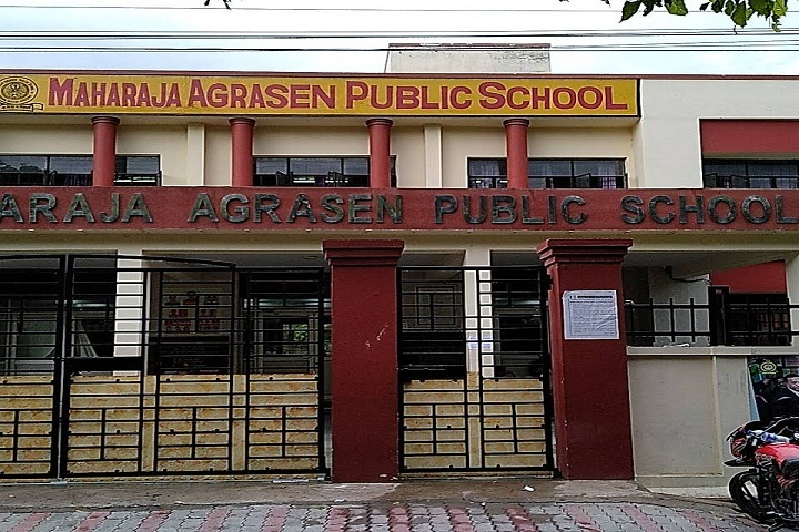 Maharaja Agrasen Public School-School Entrance