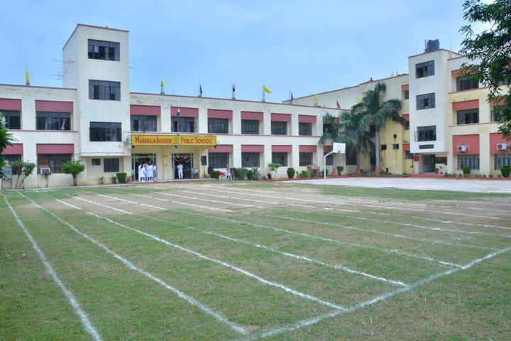 Maharaja Agrasen Public School-School View
